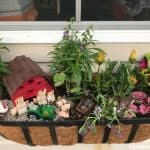Miniature Farm Window Box Planter