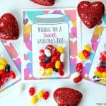 Sweet Candy Jar Valentines