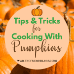 Tips And Tricks For Cooking With Pumpkin