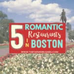 5 Unexpectedly Romantic Restaurants in Boston