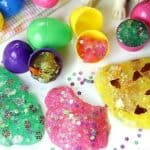 Easter Egg Glitter Slime
