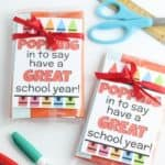 Just Poppin' Back To School Teacher Gift