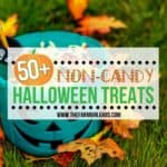 50+ Ideas for Non-Candy Halloween Treats