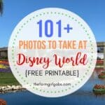 101 Photos To Take At Walt Disney World