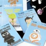 Printable Star Wars Classroom Valentine Cards