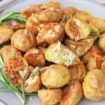 Air Fryer Parmesan Rosemary Potatoes