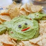 Baby Yoda Guacamole Platter