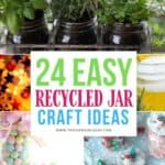 DIY Recycled Glass Jar Crafts