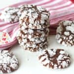 Soft and Chewy Chocolate Crinkle Cookies