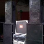 Standard PA Sound System hire auckland, great for bands or Djs, pa system hire auckland