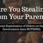 No Voice for Elder Abuse in Financial Exploitation