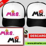 Gorras Novios personalizada