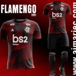 Jersey Flamengo 2021 / 2022 desing fantasy