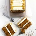 Butternu Squash Carrot Cake with Cream Cheese Frosting