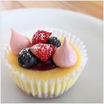 Indoor und Outdoor Aktivität – Cheesecake Muffins mit Beeren