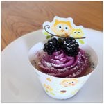 Sweet Baby party – Brombeer Cupcakes