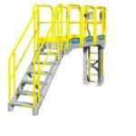 Metal Stairs Catwalk Configuration