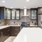 White Kitchen Cabinets with Glass Doors Ideas