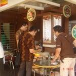 Antusiasme pengunjung mitra Coffe Land