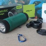 Speaker torcia bici campeggio
