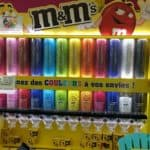Large M & M candy dispenser