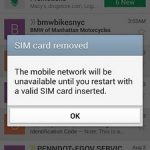 Samsung Galaxy S5 Sim Card Not Detected