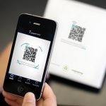 iPhone QR reader