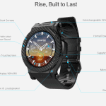 The Omate Rise 3G Smart Watch 20