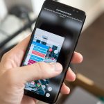 enable one-handed mode on Galaxy S8
