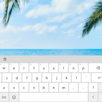 How to show keyboard touch button in Windows 10 29