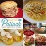 Copycat Bob Evans Chicken and Noodles Soup ~ Weekend Potluck #244