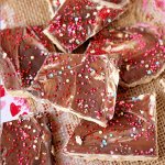 Valentine's Day Graham Cracker Toffee