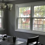 double window in dining room