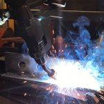 Reduce Downtime and Costs with Water-Cooled Robotic MIG Guns