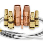 AccuLock S consumables family; contact tip, nozzles, diffusers and liner
