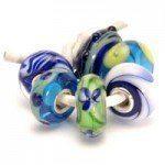 Trollbeads Blauw Groene set