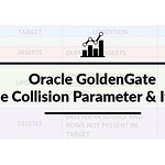 Oracle GoldenGate: Handle Collision Parameter and its usage