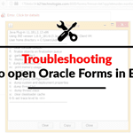 [Solved] Java Forms opening issue in EBS (R12)