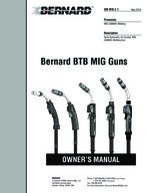 Thumbnail of Owner's Manual | OM-BTB Bernard BTB MIG Guns