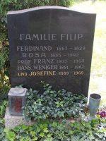 Frank Filip Grabstätte