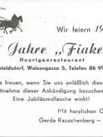 Heurigenrestaurant 1976