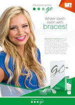 Opalescence Go Whitening Orthodontic Sales Sheet