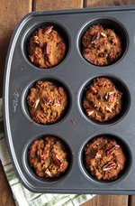 Baked Coconut Flour Zucchini Muffins