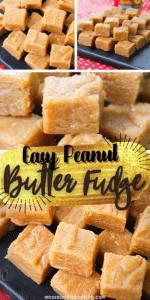 Easy Peanut Butter Fudge