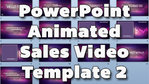 PowerPoint Animated Sales Video Template vol. 2