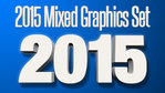 Mixed 2015 Graphics Set