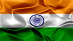 India Silky Flag Graphic Background