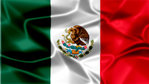 Mexico Silky Flag Graphic Background