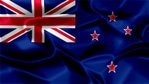 New Zealand Silky Flag Graphic Background
