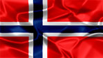 Norway Silky Flag Graphic Background